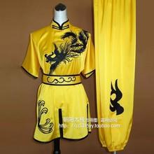 Customize High-grade Chinese wushu uniform Kungfu clothing Martial arts suits/Dragon embroidery/men/children/boy/girl/women/kids