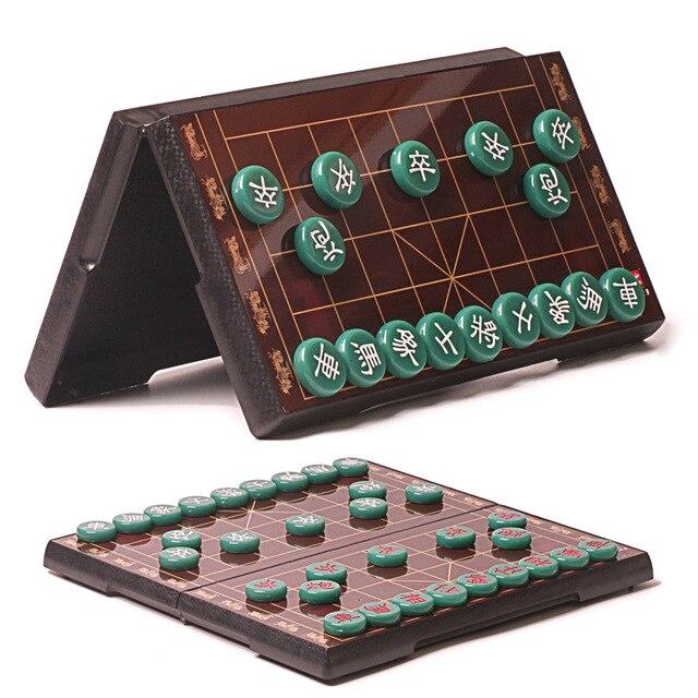 Jeu d'échecs chinois, Imitation de Jade plateau magnétique de haute qualité, 1