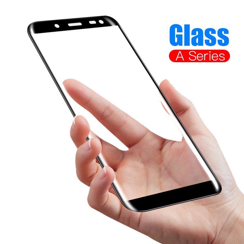 Protective Glass For Samsung A5 2016 A3 A7 2017 J8 A750 A9 A8 A6 PLUS 2018 Tempered Glas Screen Protector On The Galaxy Film
