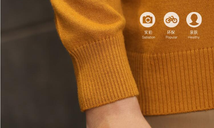 Pure Color Cotton Turtleneck Men's Sweaters Thicken Warm High Collar Male Knitted Sweater Loose Pullover Men Turtleneck Sweater