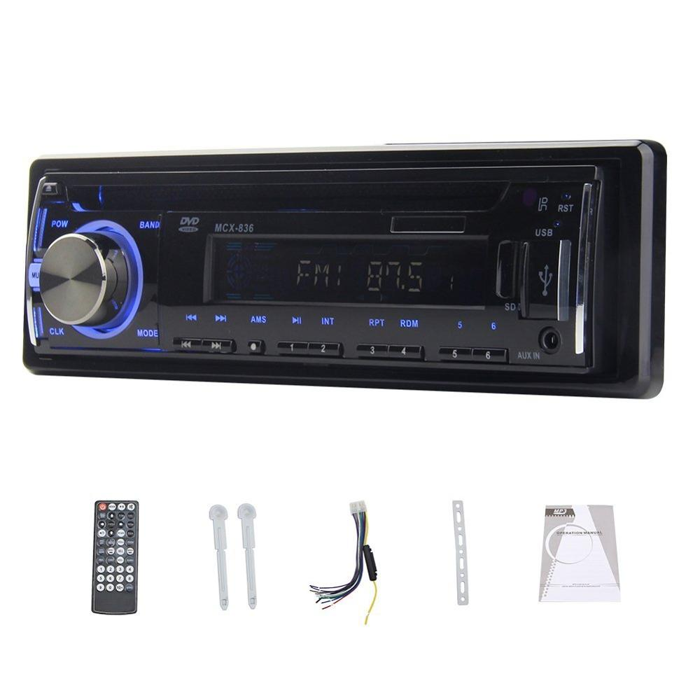1 DIN Car dvd Player Auto 1din Car Radio Player Stereo In-Dash autoradio single din Car EQ FM/MP3/Audio/Charger/USB/SD/AUX 1 din car dvd player autoradio single din 1din car radio player stereo fm mp3 audio charger usb sd aux auto electronics