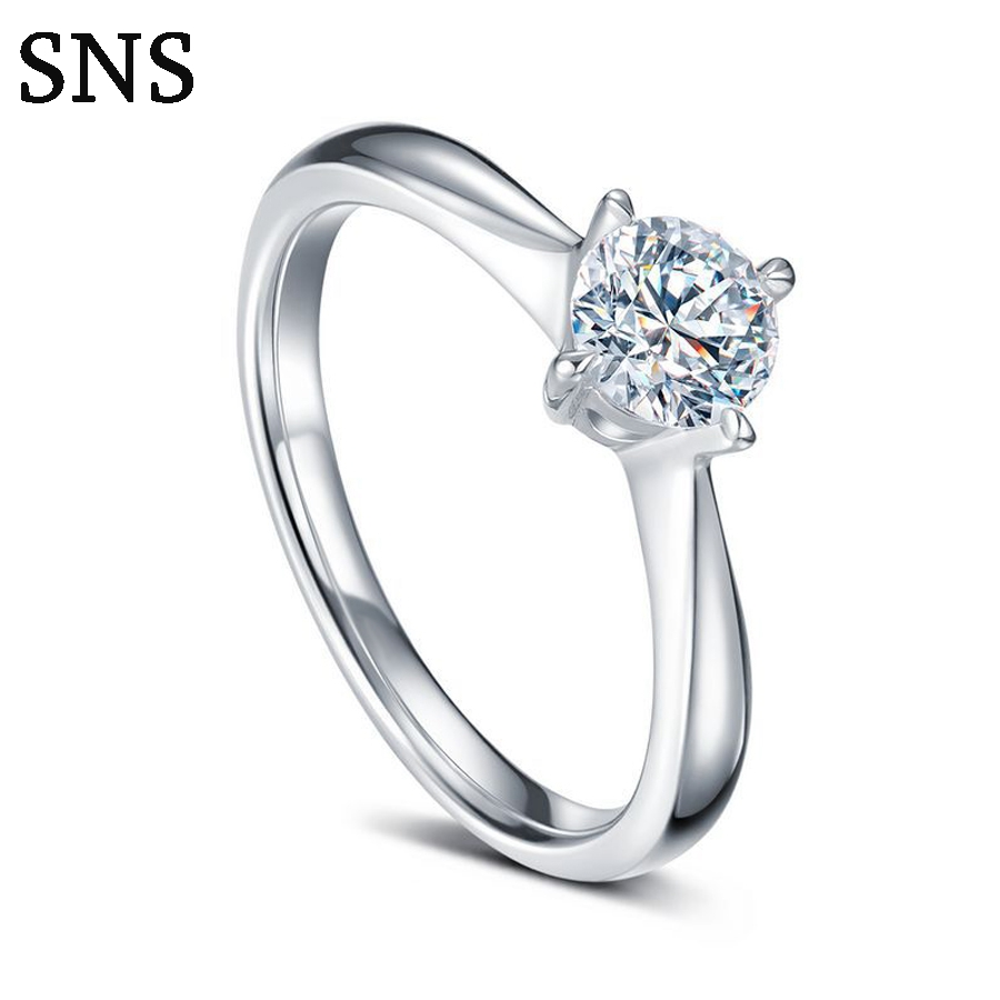 Luxury Tiny Natural Real Diamond Engagement Ring Classic 4-Prong Halo Setting 14k White Gold потолочная люстра freya fr5102 cl 04 ch