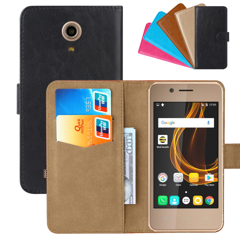 Luxury Wallet Case For <font><b>Micromax</b></font> Bolt Pace <font><b>Q402</b></font> PU Leather Retro Flip Cover Magnetic Fashion Cases Strap image