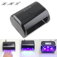 Portable LKE 9W 12V LED UV Nail Lamp Gel Curing Nail Dryer lamp for Nails Art
