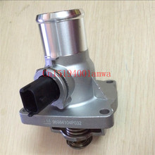 Auto parts Engine Cooling Thermostat For New Epica Cruze Sonic Malibu Hideo Opel Astra Zafira Thermostat Housing OEM# 96984104