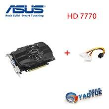 Asus HD7770-FMLII-1GD5 HD 7770 1 г D5 GDDR5 128 бит настольных ПК Графика видео карты PCI Express 3,0 компьютеров Графика карты GTX750