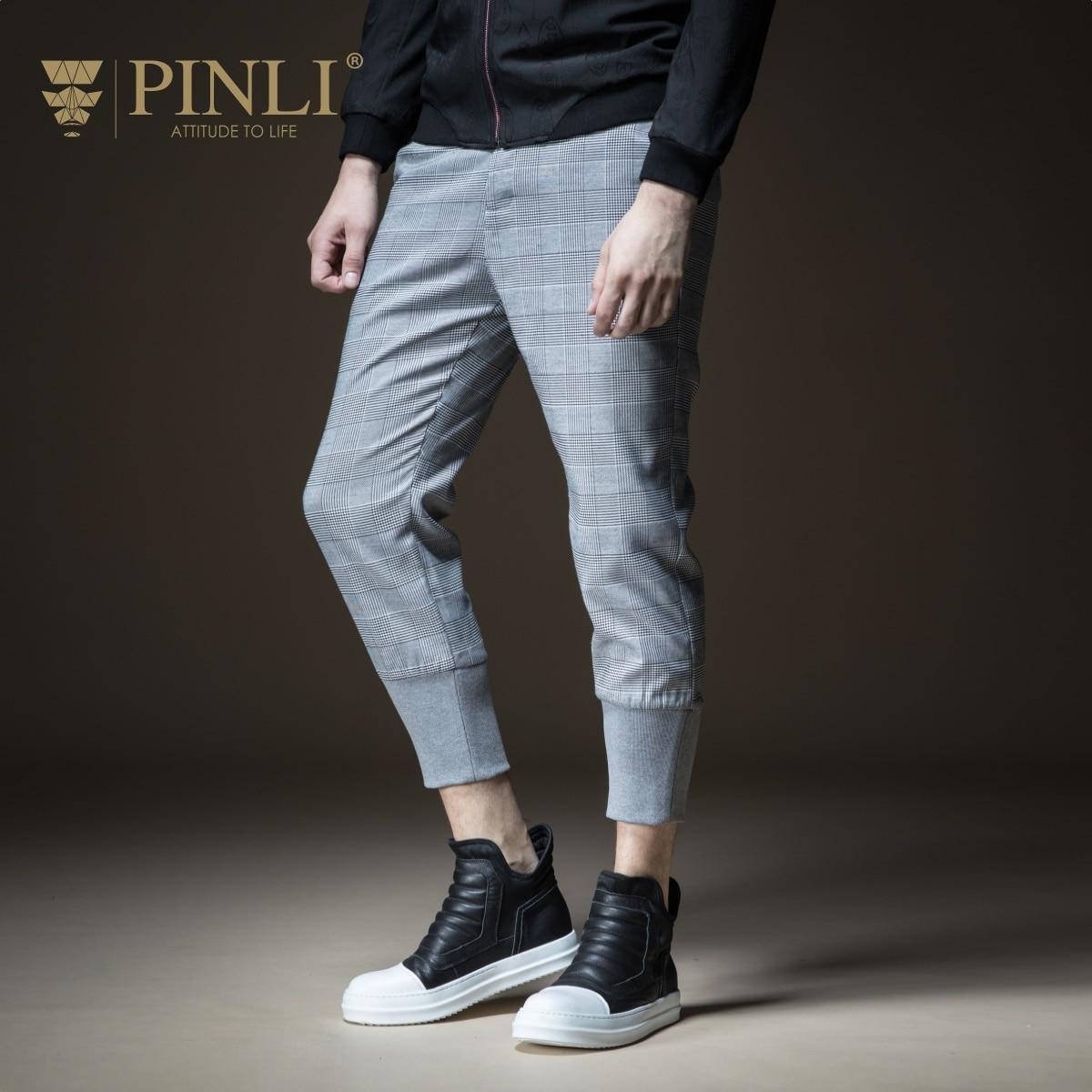 2019 vrai pantalons de survêtement vente cheville-longueur pantalon mi hommes Pinli Pin Li nouveau Style hommes corps à l'automne, 9 pieds pantalon, B183317319