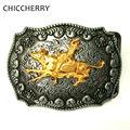 Homens Cintos de Fivela Acessórios Retro Vintage Rodeo Matador/Toureiro Ocidental Cowboy Fivelas de Cinto de Metal Para A Largura de 4 cm cinto