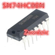 100PCS SN74HC08N DIP14 SN74HC08 DIP 74HC08N 74HC08 DIP-14 new and original tca965b dip14 high quality