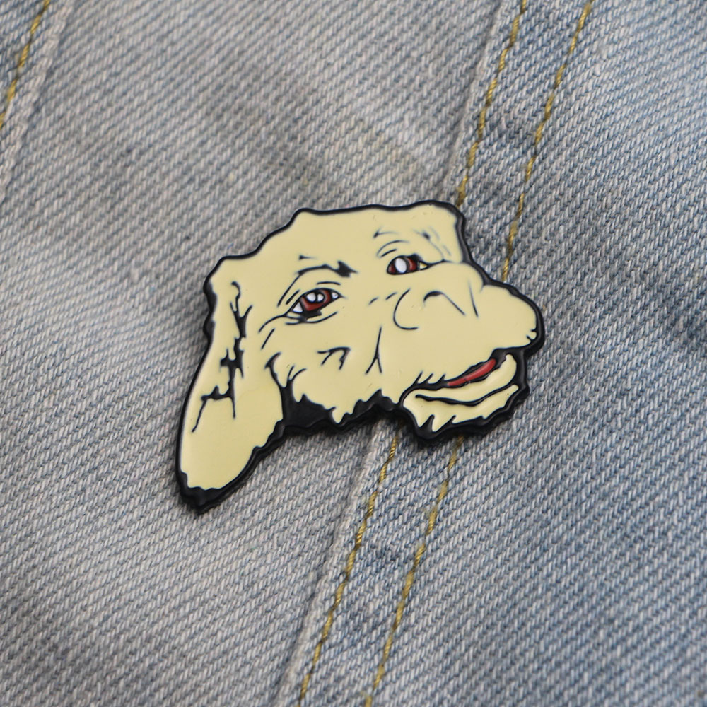 Neverending story Falcor the luck dragon Enamel Zinc Alloy Pins backpack clothes brooches for men women hat badges medal E0194 in Badges from Home Garden