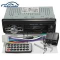 Carro de áudio unidade central de rádio FM SD USB MP3 Player AUX entrada sem leitor de 12 V
