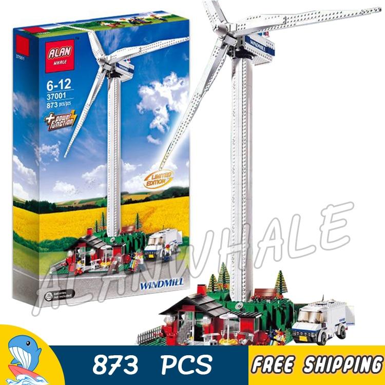 873pcs Vestas Wind Turbine Systems Electric Motorized Farm