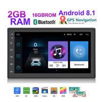 Lexxson android 8.1 2din car radio ISO For Nissan Toyota For Volkswagen Mazda GPS Navigation FM Multimedia universal Mirror Link