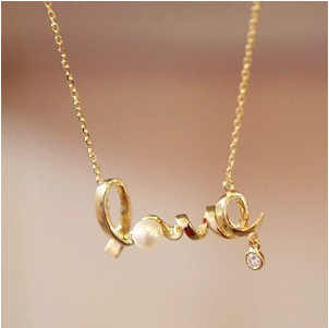 2018 The New Custom Alloy Necklace Name Necklace Special Gift For Your Love Unique Gift Personalized Necklace