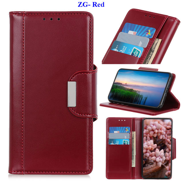 Business Magnetic Leather Wallet Case for iPhone 11/11 Pro/11 Pro Max 17