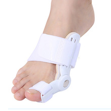 LNRRABC Sale 1PC White Toe Deformity Aligner Toes Support Bunion Hallux Valgus Corrector Care Bandage Foot Care