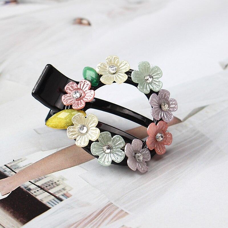 M MISM Korea Fashion Girls small flowers gripper Hair Pins children Hair Clips Headwear Headgear Accessories Hair Clip Wholesale