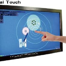 """Xintai Touch 6"""" мульти ИК сенсорный экран Наложение 10 20 точек инфракрасная Сенсорная панель рамка, драйвер бесплатно, plug and play"""