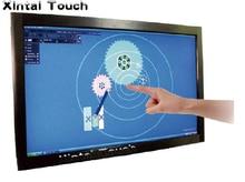 Бесплатная доставка! Xintai touch 65 дюймов Multi ИК сенсорный экран Наложение 6 очков инфракрасный сенсорная панель, драйвер, Plug and play