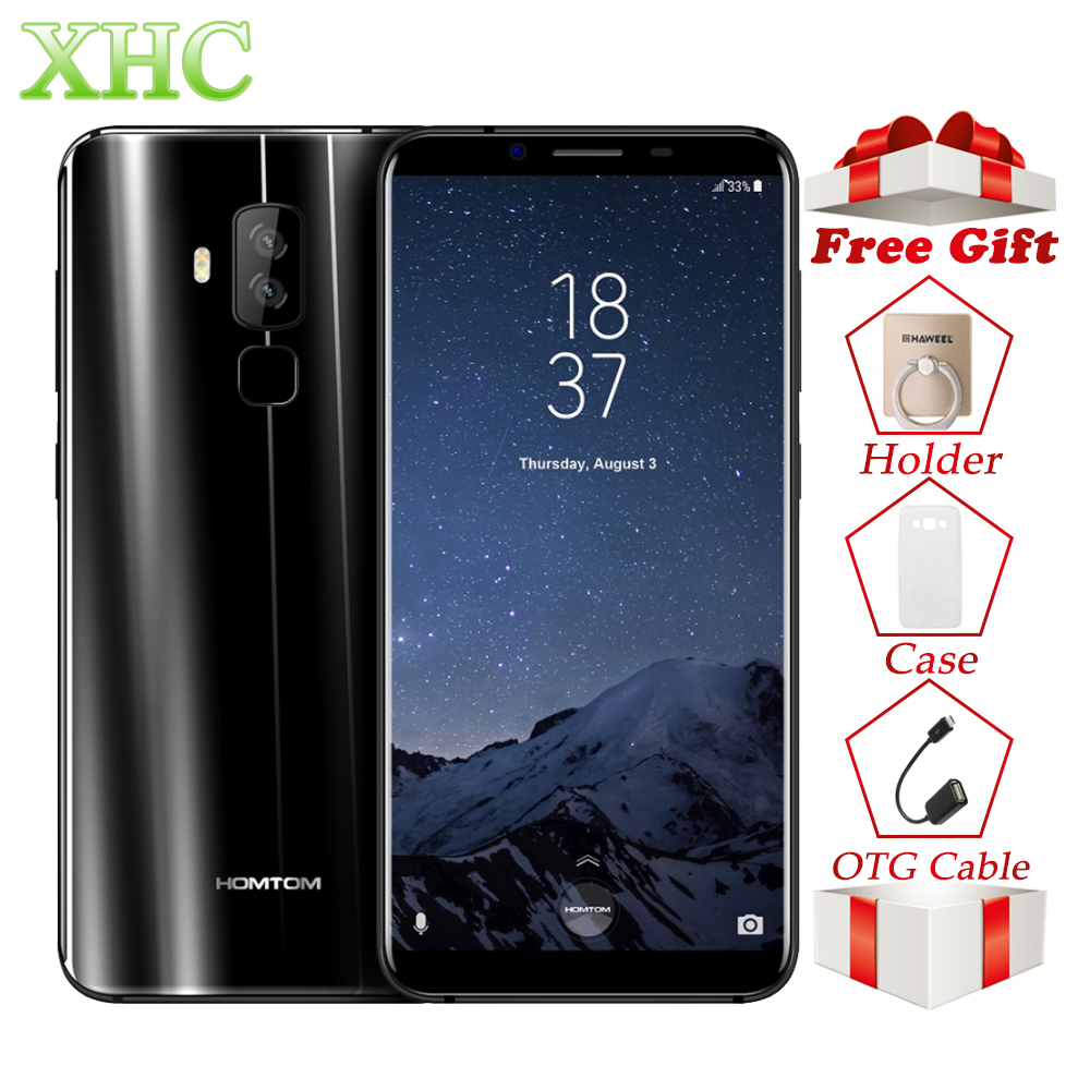 LTE 4g HOMTOM S8 5.7 ''Smartphone RAM 4 gb ROM 64 gb 13MP/16MP Android 7.0 Octa core Rapide charge Double SIM OTG OTA GPS Mobile Téléphone