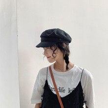 Korea Edition Women New Visor Cap Beret Female Fall winter S