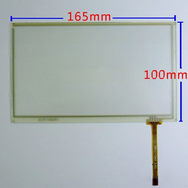 New 7 touch screen digitizer panel For Phantom DVM 3006g