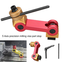 Tool Woodworking Adjustable Fixture Clamp Work Stop Diamond Dresser Universal Milling Machine Locator Multifunction Random Color