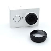 Tampa protetora de lente para xiaomi yi, acessório para câmera de ação uv
