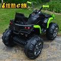 Praia de areia crianças veículo elétrico de quatro rodas vai código cross-country do bebê pode se sentar as pessoas criança toys do motor do automóvel-driven