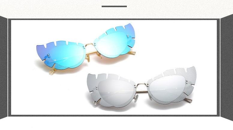 Di Per O c4 Qualità Sole D Pink c6 Le Senza Montatura c3 C1 Gafas Donne Vintage Marchio c2 c5 Da Cute Occhiali Femminili Partito OPq8zff