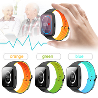 Monitor de Frecuencia Cardíaca y La Presión Arterial M40 g-sensor Cámara Bluetooth Recordatorio anti-perdida Smartwatch Llamada MP3 de Juego Reloj de la música
