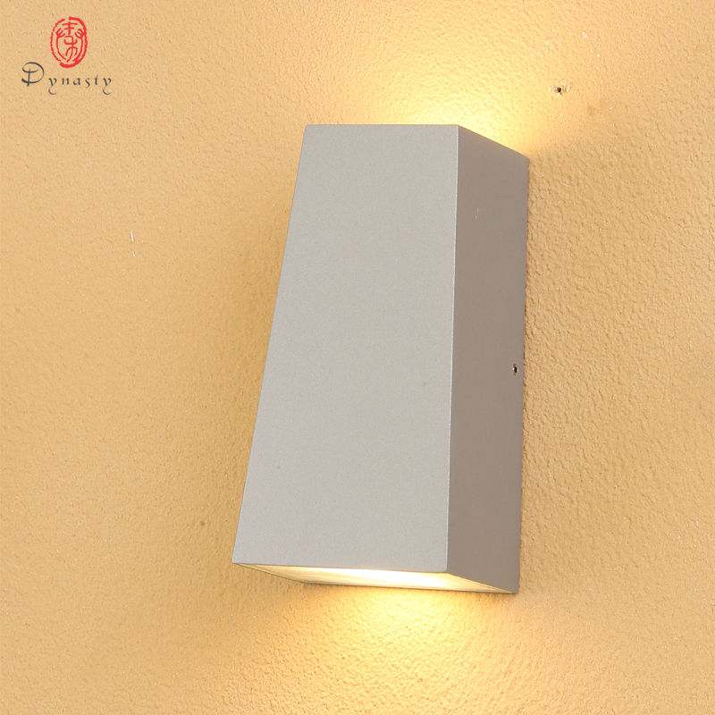 Dynasty Lighting LED Wall Lamp Modern Aluminum Wall Lights Waterproof Customize Courtyard Garden Swimming Pool Porch Corridors in Outdoor Wall Lamps from Lights Lighting