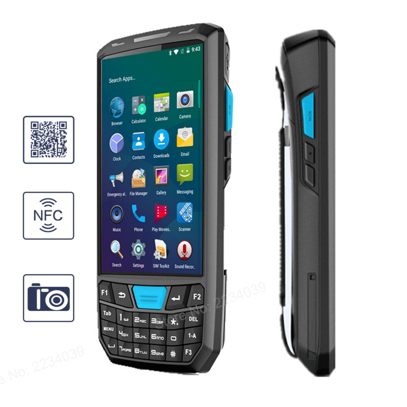 LOT of 10x Motorola MC75A0-PY0SWQQA9WR 1D Laser Barcode Scanner PDA WM6.5 WiFi