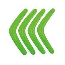 5pcs V Shape Boomerang Handmade Plastic Outdoor Fun