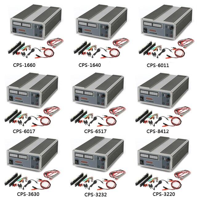 High Power MCU PFC Compact Digital Verstelbare DC Voeding Laboratorium Telefoon Schakelende Voeding 60 V 17A 30 V 10A 5A 65 V 32 V
