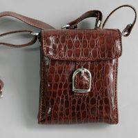 [Wamami] brązowy skóry syntetycznej torebki 1/3 sd dz bjd dollfie