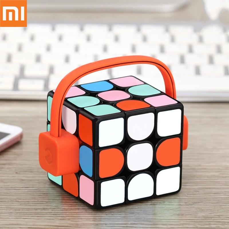 Xiaomi Smart Giiker Super Rubik 39 s Cube Apprendre Fun Bluetooth Connexion de Détection Identification Intellectuelle Développement Jouet