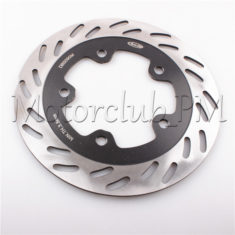 3 Holes Front Brake Disc Rotor For SYM JOYMAX 03 04 05 06 07 08 09 & GTS 200 Black Motorcycle Bicycle Pads mfs motor motorcycle part front rear brake discs rotor for yamaha yzf r6 2003 2004 2005 yzfr6 03 04 05 gold