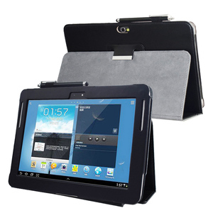 GT N8000 N8010 N8013 Note 10.1 (2012 Release) Advanced leather stand cover for Samsung N8005 N8020 SCH-I925 Tablet book case(China)