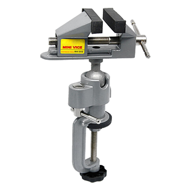 Abrazadera de Banco de mesa visas soporte de amoladora para herramienta rotativa, artesanía, construcción de modelos, electrónica, hobby