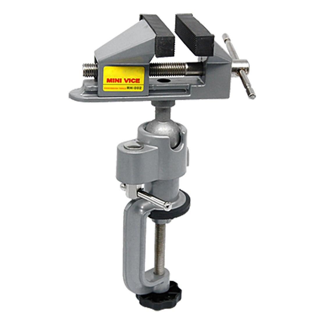Mesa de tornillo de banco para prensas de titular taladro soporte para Rotary herramienta artesanía modelo edificio electrónica hobby