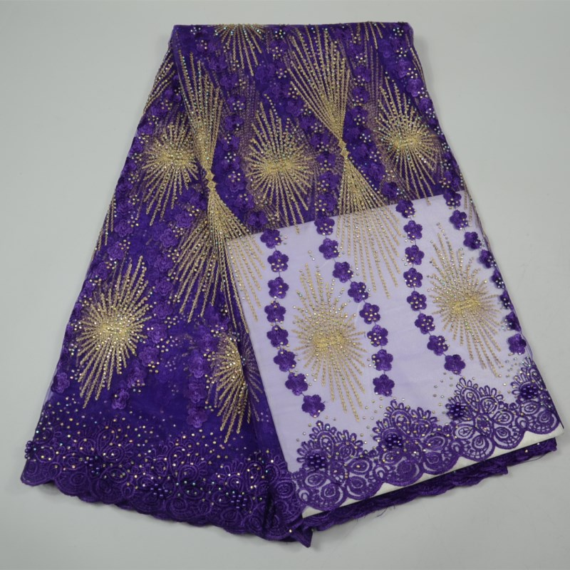 Free Shipping French Lace Fabric With Beads purple African Lace Fabric High Quality 2018 Net Lace Nigerian Material Dress -30Free Shipping French Lace Fabric With Beads purple African Lace Fabric High Quality 2018 Net Lace Nigerian Material Dress -30