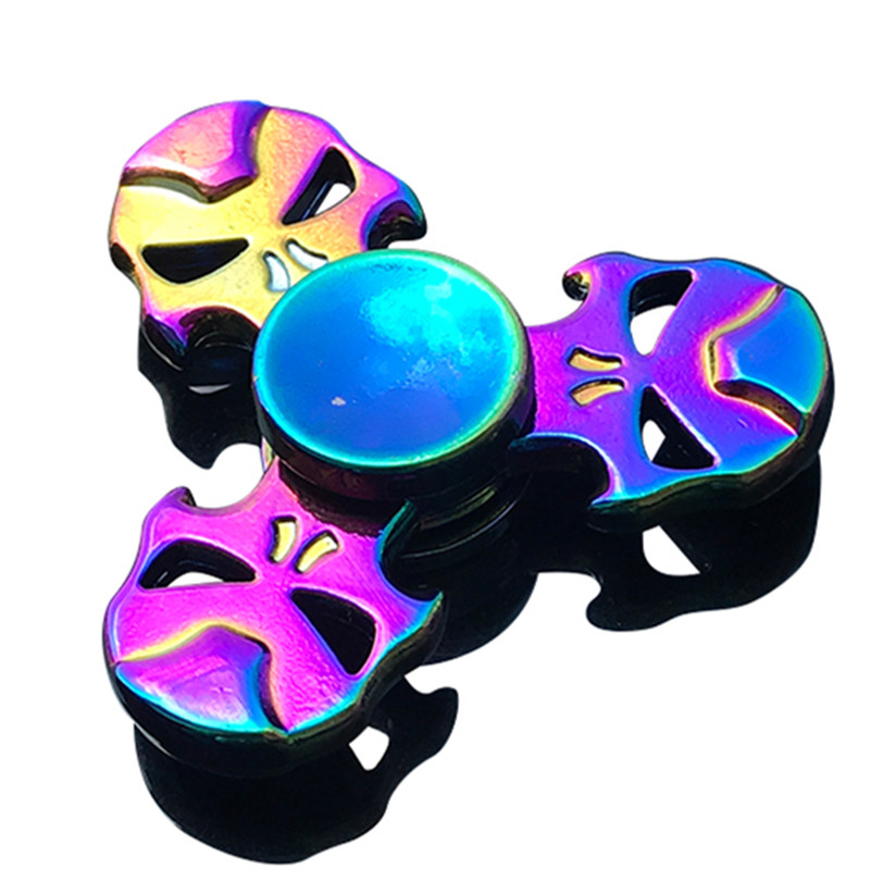 EDC Fidget Spinners Anti-Anxiety-Toy Stress Focus ADHD Relieves Metal img3