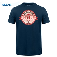GILDAN T Shirts Casual Brand Clothing Cotton Work Smart Drive Red Ih International Harvester Tractor Mens