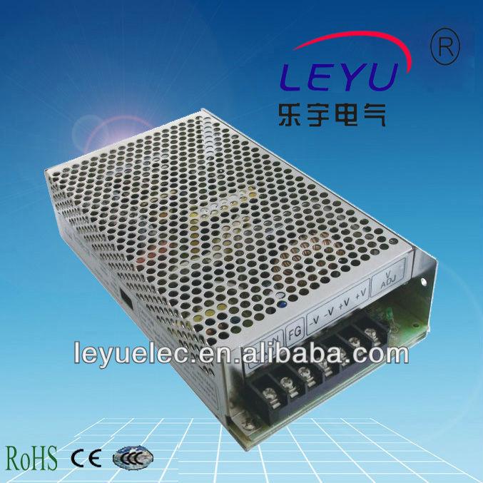 LEYU -5V quad output Switching power supply 120W 5V 12V -5V -12V suply Q-120B 400w s400w 5v 75a led switching power supply 5v 75a 85 265ac input ce rosh power suply 36v output