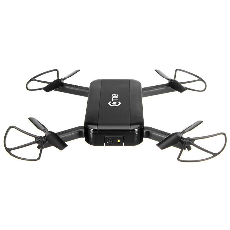 C-me Cme GPS WiFi FPV Selfie Drone w/1080 P HD Fotocamera GPS Altitudine Hold Modalità Pieghevole Braccio RC Quadcopter Nero VS Eachine E56
