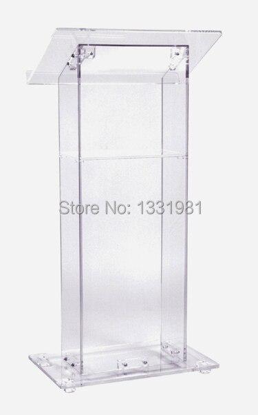 Free Shipping Hot Sale Modern Acrylic Lectern/High Quality Acrylic Podium