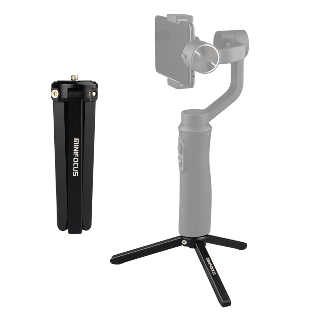 Consumer Electronics Diligent Aluminum Portable Mini Tabletop Tripod Leg For Dslr Digital Camera Feiyu Osmo Moza Air Handle Gimbal