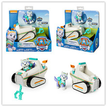 Genuine Nickelodeon Spin Master Paw Patrol Everest's Rescue Snowmobile Skye Flyin Copter Ryder's Rescue ATV, Vehicle and Figure spin master nickelodeon paw patrol 16721 водные лыжи зумы