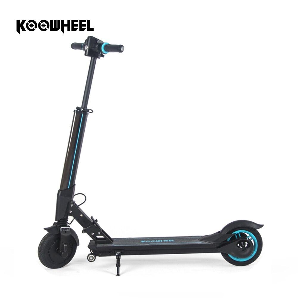 2019 Koowheel Scooter électrique mise à niveau pliable e-scooter électrique planche à roulettes Mini Longboard coup de pied Scooter pour enfants adultes